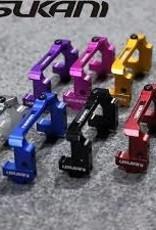 Usukani US88103TB Adjustable Alloy Servo Holder (Tamiya Blue) - Usukani