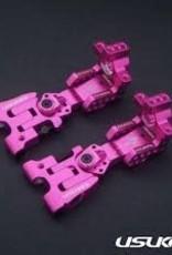 Usukani US88110PK AR Ver2.4 Rear Arm Set (2.5mm) (Pink) - Usukani