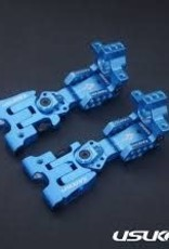 Usukani US88111YB AR Ver2.4 Rear Arm Set (3mm) (Yokomo Blue) - Usukani
