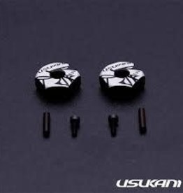 Usukani US88147 7075 AL Clamping Wheel Hub/2pcs (5.0mm) by Usukani