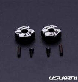 Usukani US88148 Usukani 7075 AL Clamping Wheel Hub/2pcs (6.0mm)