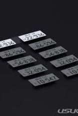 Usukani Usukani 3D License Plate Sticker ( 22-936 )/2pcs