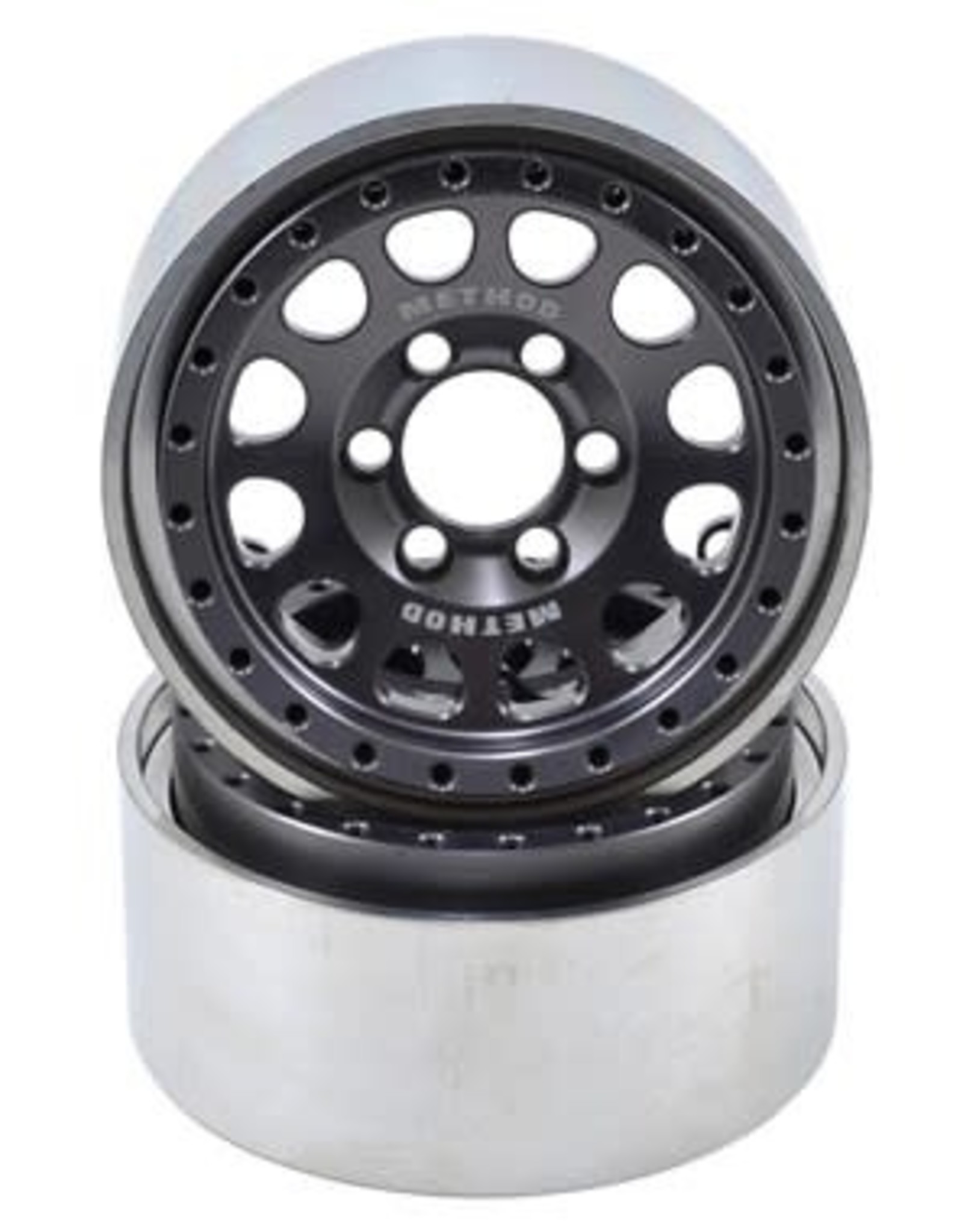 "Vanquish Vanquish Products Method 105 1.9"" Wheel (2) (Grey/Black)"