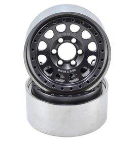 "Vanquish Vanquish Products Method 105 1.9"" Wheel (2) (Grey/Black)"