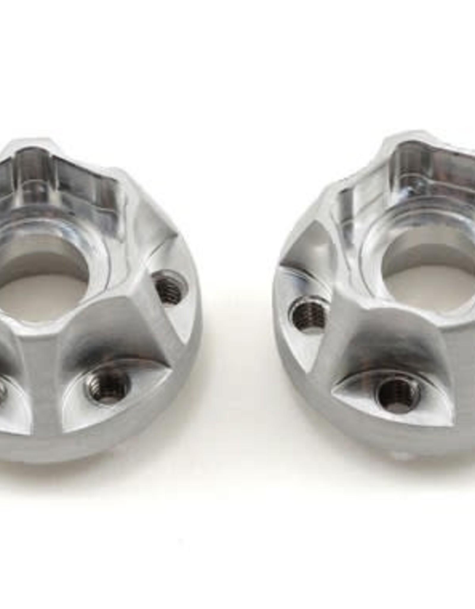 Vanquish Vanquish Products SLW Hex Hub Set (Silver) (2) (475)
