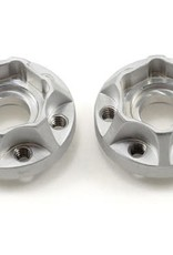 Vanquish Vanquish Products SLW Hex Hub Set (Silver) (2) (350)