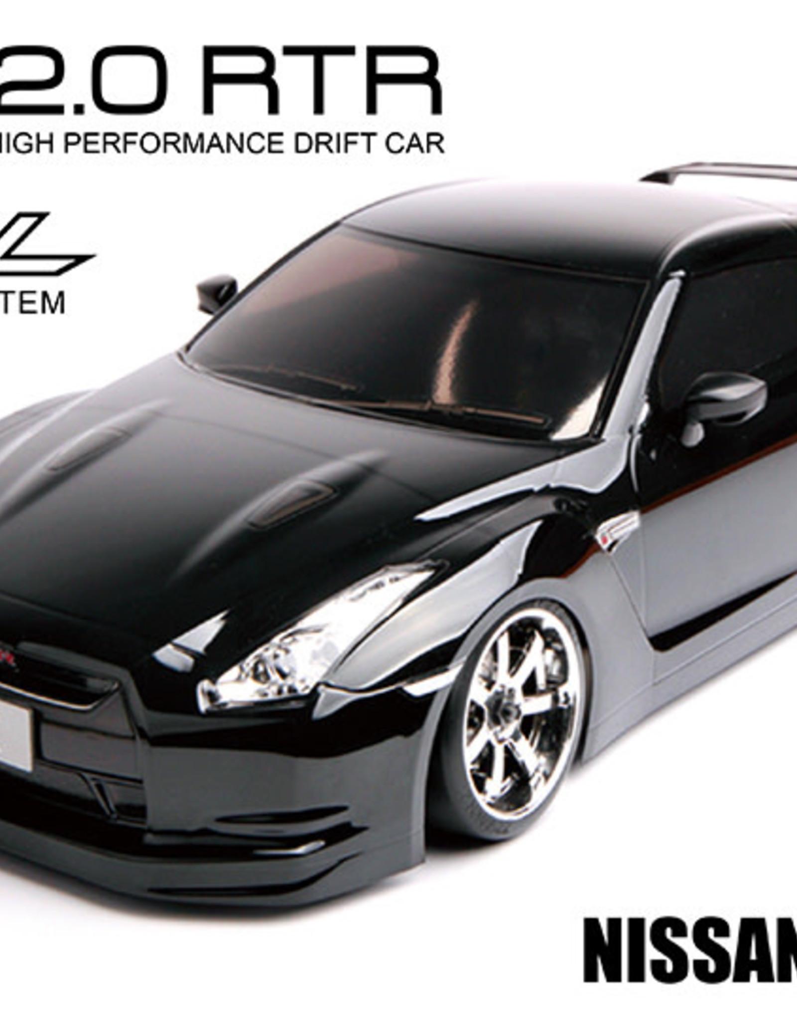 MST 533702 RMX 2.0 RTR Nissan R35 GT-R (black) (brushless) 533702 by MST