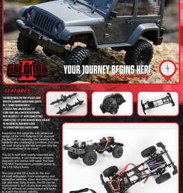 RC4WD RC4WD 1/18 GELANDE II RTR W/BLACK ROCK BODY SET