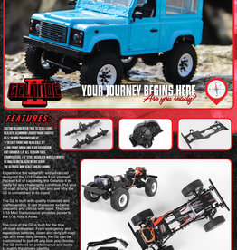 RC4WD RC4WD 1/18 GELANDE II RTR W/D90 BODY SET (Black)