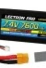 Common Sense Rc Lectron Pro 7.4V (2S) 7600mAh 35C w/XT60 Connector