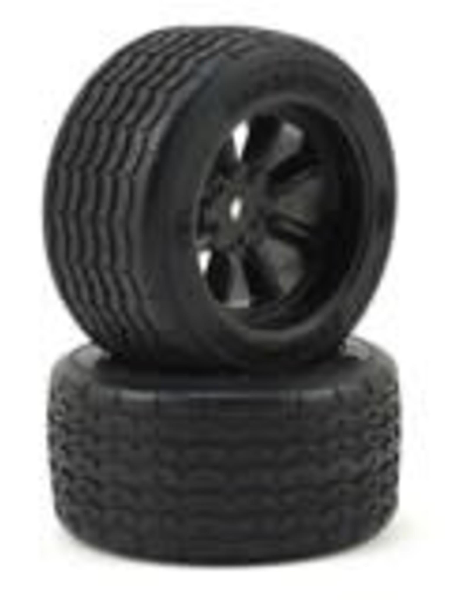 Protoform Protoform Vintage Racing Pre-Mounted Rear Tire (2) (26mm) (Black)