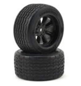 Protoform Protoform Vintage Racing Pre-Mounted Rear Tire (2) (26mm) (Black)