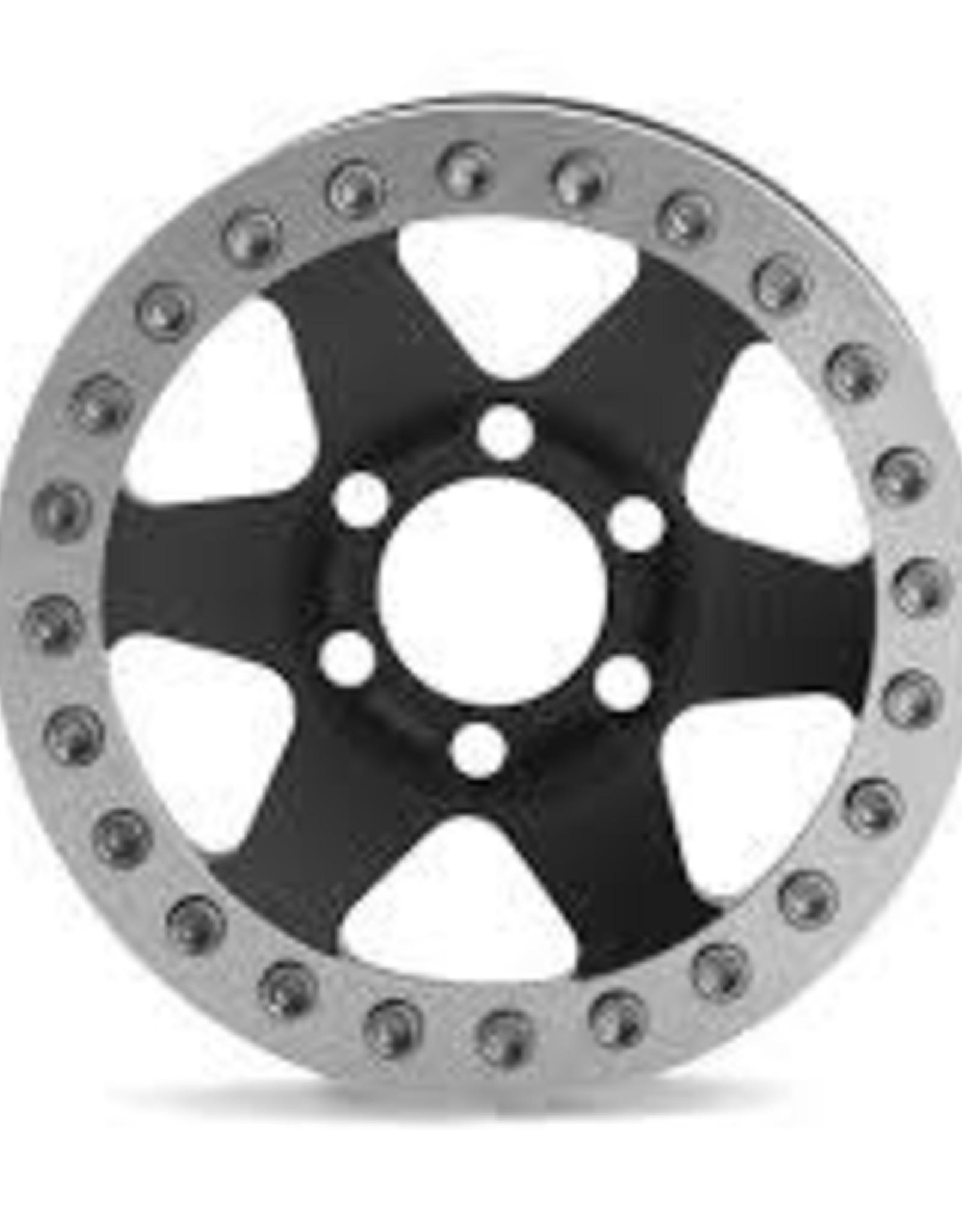 "Vanquish Vanquish Products Method MR310 1.9"" Wheel (2) (Black/Silver)"