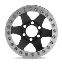 "Vanquish Vanquish Products Method MR310 1.9"" Wheel (2) (Black/Silver)"