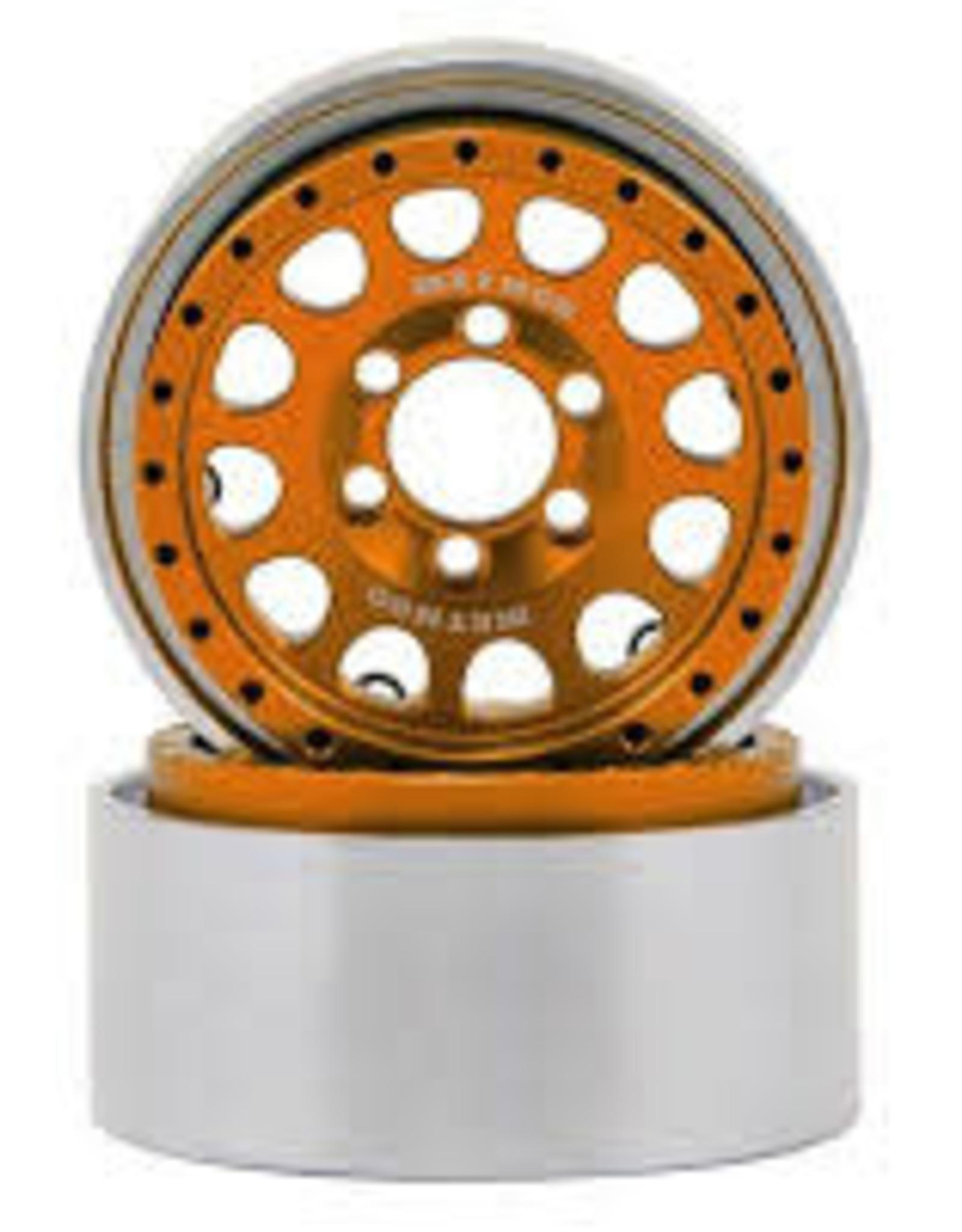 "Vanquish Vanquish Products Method 105 1.9"" Wheel (2) (Orange/Black)"