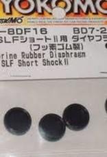 Yokomo YOKB7-8DF16 Fluorine Diaphragm for YD-2/YD-4/BD7 2016 SLF Short shock II by Yokomo