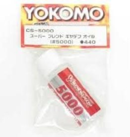 Yokomo YOKCS-5000 YOKOMO Super Blend Gear Differential Oil #5000 (CS-5000)
