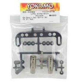 Yokomo YOKSD-ACMG Real Muffler Set, Gunmetal by Yokomo