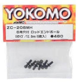 Yokomo YOKZC-206MH Hex Hole Rod End Ball (M Size / 12.7 mm) (ZC-206MH) by Yokomo