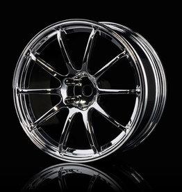 MST RS II Drift Wheel (4pcs) - MST Silver 5mm