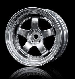 MST SP1 Wheel (4) by MST Flat Silver 5mm
