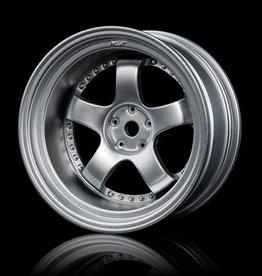 MST SP1 Wheel (4) by MST Flat Silver 9mm