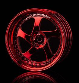 MST TMB Wheel (4pcs) by MST Red 8mm