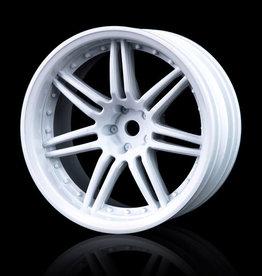 MST X603 Wheel (4pcs) by MST White 8mm