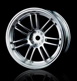 MST RE30 Wheel (4pcs.) by MST Flat Silver 5mm