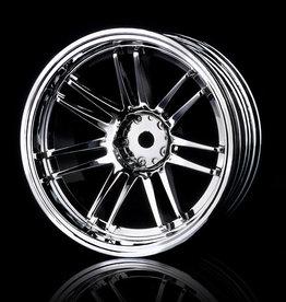 MST RE30 Wheel (4pcs.) by MST Silver 10mm