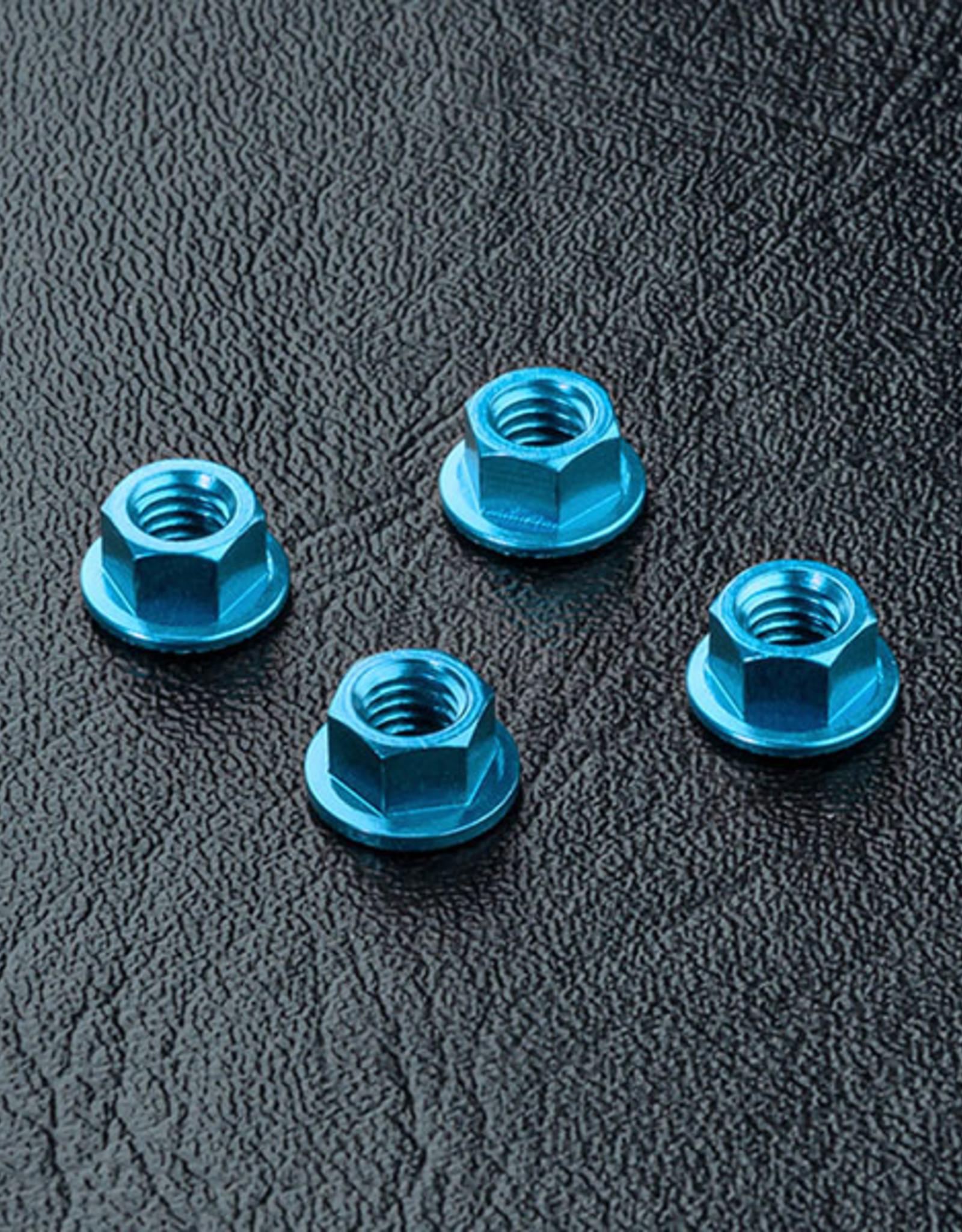 MST MXSPD820001B Alum. wheel nut (blue) (4) by MST820001B