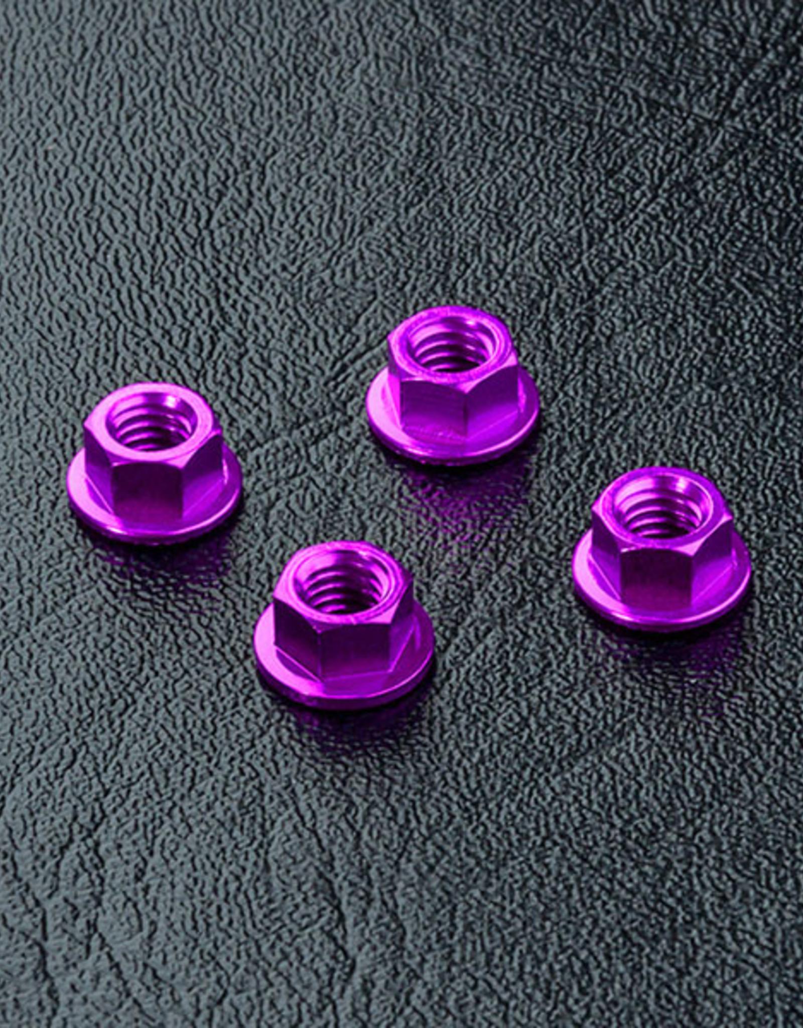 MST MXSPD820001P Alum. wheel nut (purple) (4) 820001P by MST