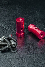 MST MXSPD210449R RMX SHORT BATTERY HOLDER SET (RED) - MST 210449R