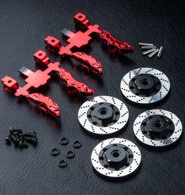 MST MXSPD210143 Alum. wheel hubs 6mm (brake disc shaped) by MST210143