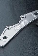 MST MXSPD210142S Alum. bumper support (silver) - by MST 210142S
