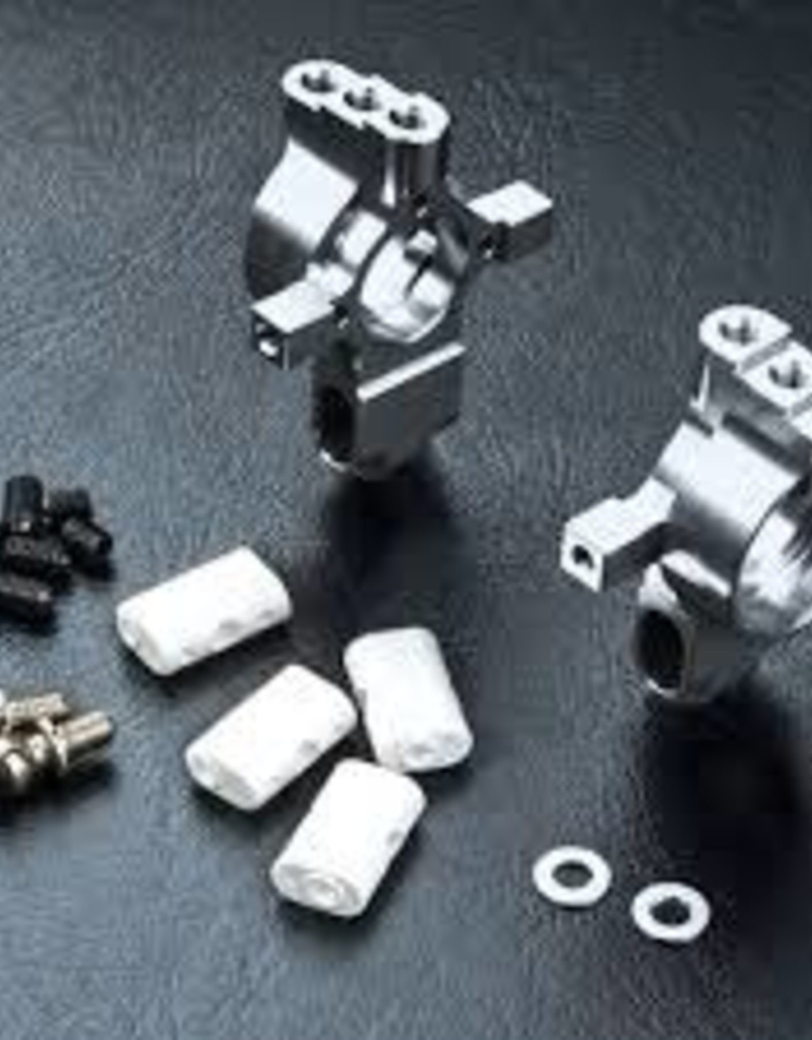 MST MXSPD210354S MST FXX HT Aluminum Rear Upright Set Silver 210354S