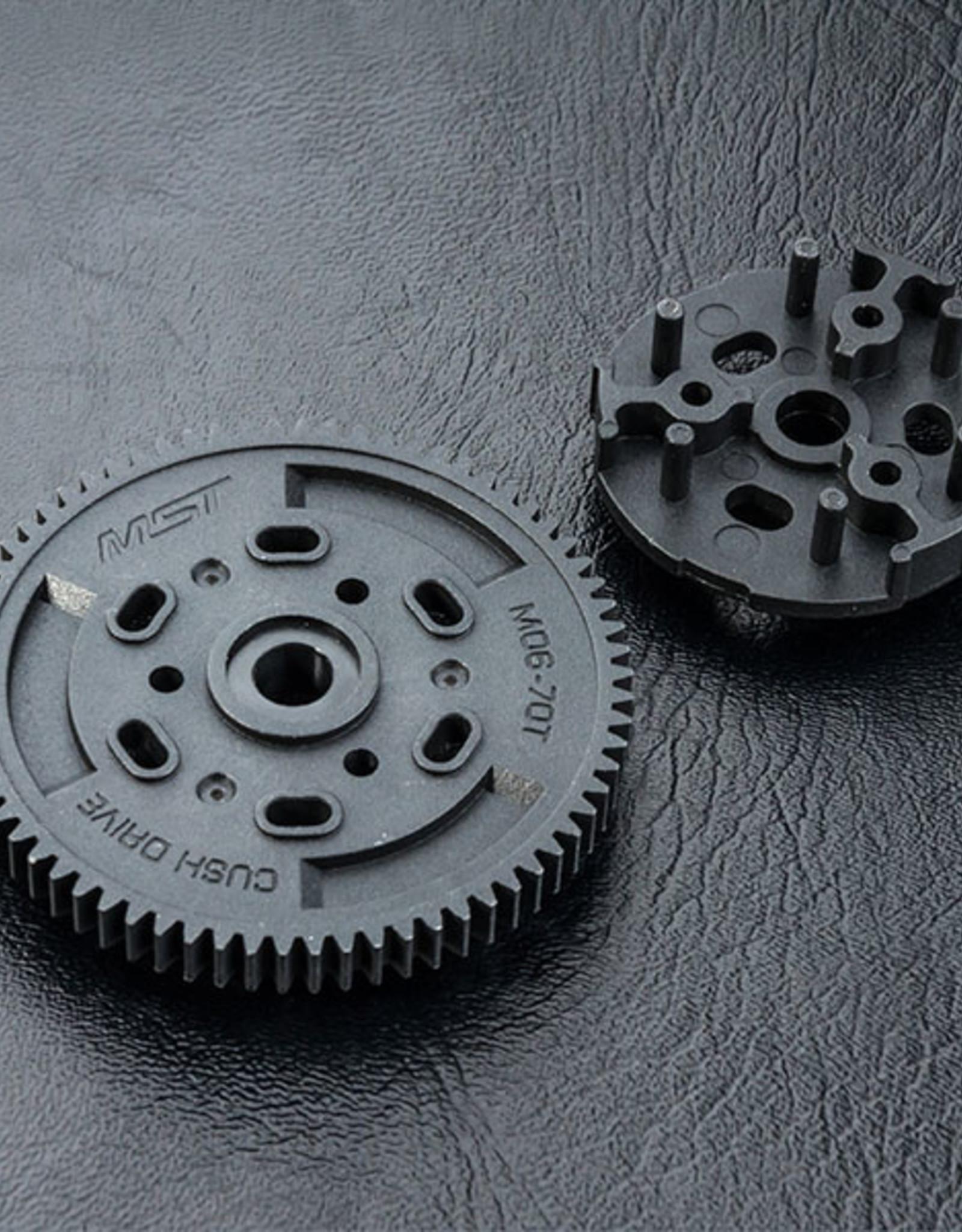 MST MXSPD230088 Cush drive rubber gear M06-70T 230088 by MST