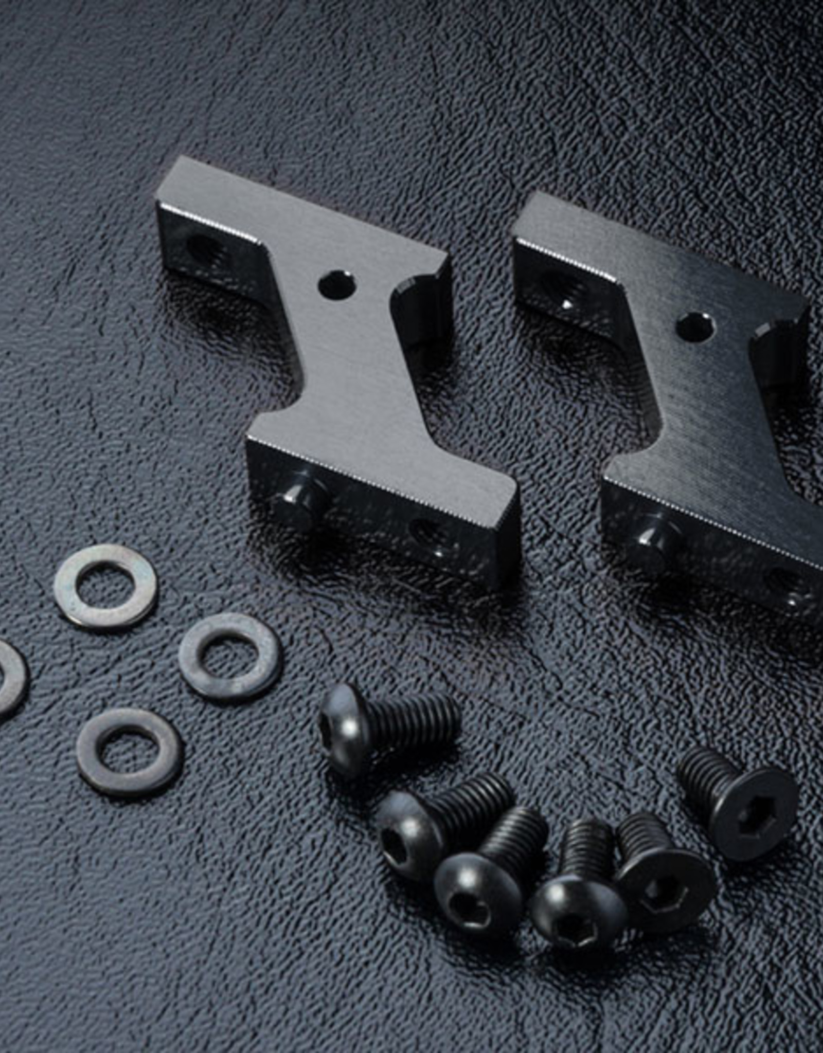 MST MXSPD210222BK Alum. vertical low profile servo mount (black) 210222BK by MST