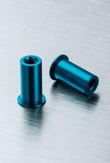 MST MXSPD210183 Alum. steering post (blue) (2) by MST 210183