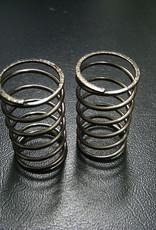 MST MXSPD210144-1 Coil spring set 28mm (hard) (silver) (2) - MST 210144-1