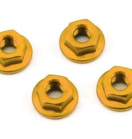 175RC 175RC Serrated Wheel Nuts Gold