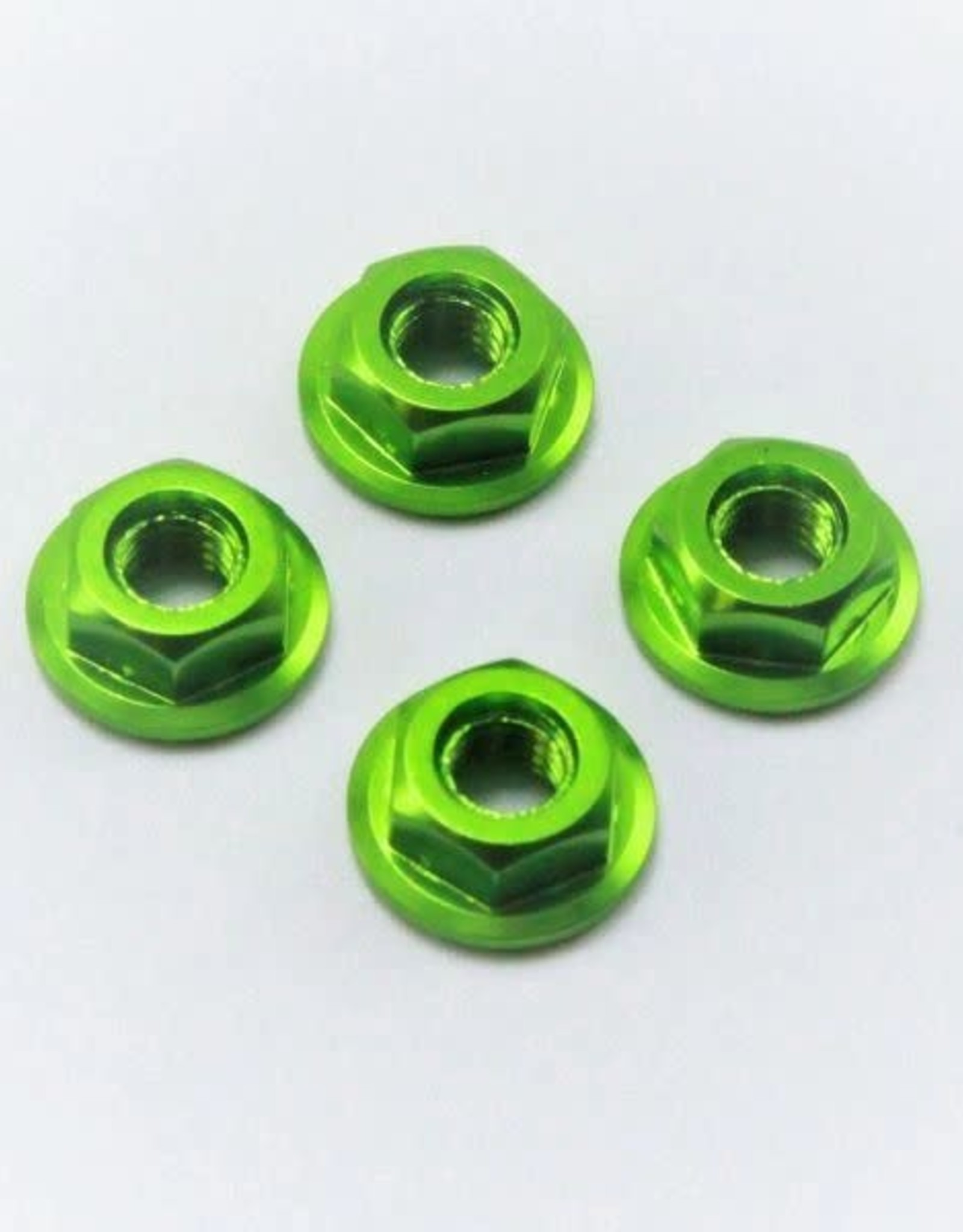 175RC 175RC Serrated Wheel Nuts Green