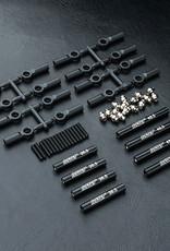 MST MXSPD210536BK CMX Alum. link set (242mm) (black) 210536BK by MST