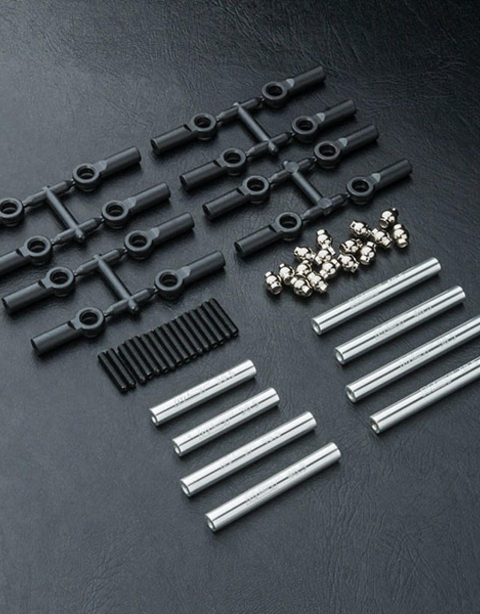 MST MXSPD210537S CMX Alum. link set (252mm) (silver) 210537S by MST
