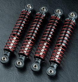 MST MXSPD820116BK TC70 Alum. damper set (black) (4) 820116BK by MST