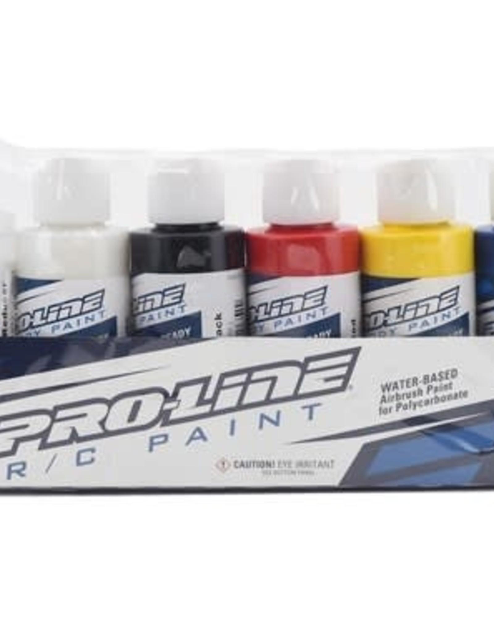 Pro-Line Pro-Line RC Body Airbrush Paint Primary Color Set (6)
