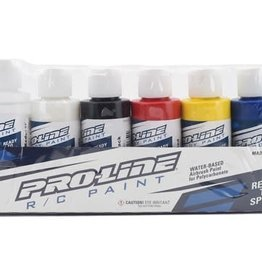 Pro-Line Pro-Line RC Body Airbrush Paint Primary Color Set (6)