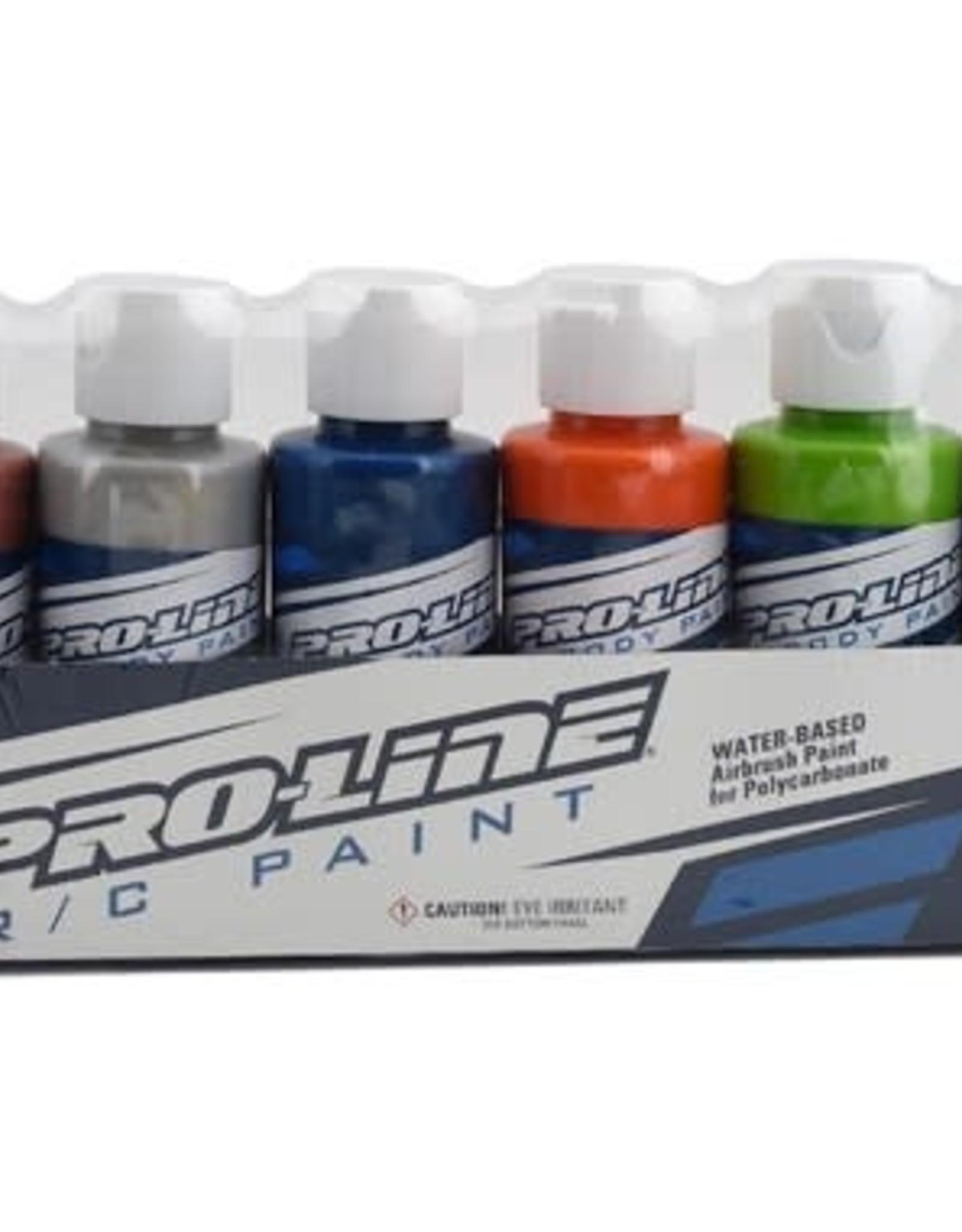 Pro-Line Pro-Line RC Body Airbrush Paint Metallic/Pearl Color Set (6)