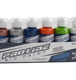 Pro-Line Pro-Line RC Body Airbrush Paint Metallic/Pearl Color Set (6)