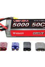 VENOM DRIVE 50C 3S 5000mAh 11.1V LiPo Hardcase Battery with UNI 2.0 Plug